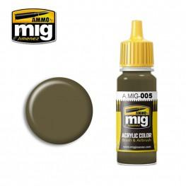 AMMO: Acrylic Paint - RAL 7008 Graugrun (17ml)