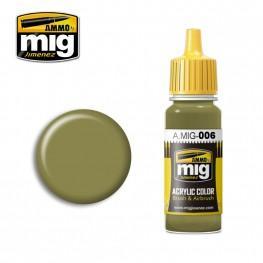 AMMO: Acrylic Paint - RAL 7008 Graugrun Opt2 (17ml)