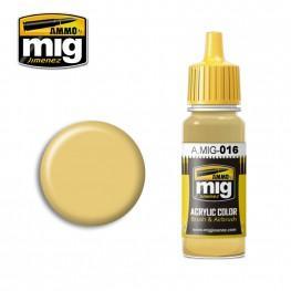 AMMO: Acrylic Paint - RAL 8020 Gelbbraun (17ml)