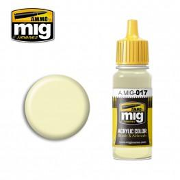 AMMO: Acrylic Paint - RAL 9001 Cremeweiss  (17ml)