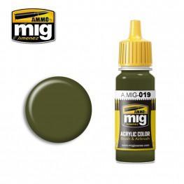 AMMO: Acrylic Paint - 4BO Russian Green (17ml)