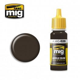 AMMO: Acrylic Paint - 6K Russian Brown (17ml)