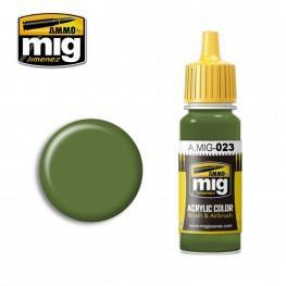 AMMO: Acrylic Paint - Protective Green (17ml)