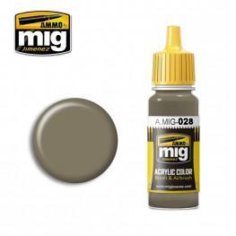 AMMO: Acrylic Paint - RAL7050 F7 German Grey Beige (17ml)