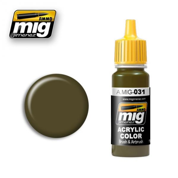 AMMO: Acrylic Paint - Spanish Green-Khaki (17ml)