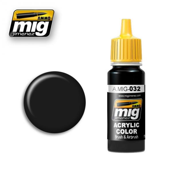 AMMO: Acrylic Paint - Satin Black (17ml)