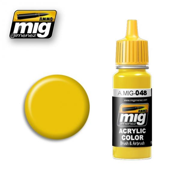 AMMO: Acrylic Paint - Yellow (17ml)