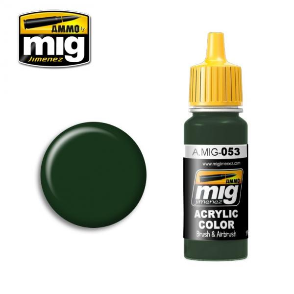 AMMO: Acrylic Paint - Protective MC 1200 Green (17ml)
