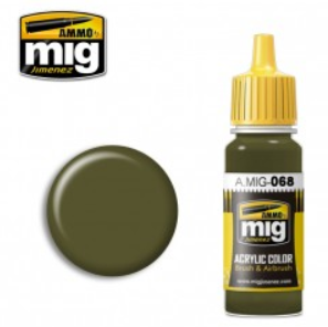 AMMO: Acrylic Paint - IDF Green (17ml)