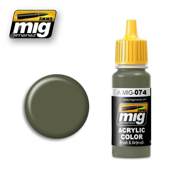 AMMO: Acrylic Paint - Green Moss (17ml)