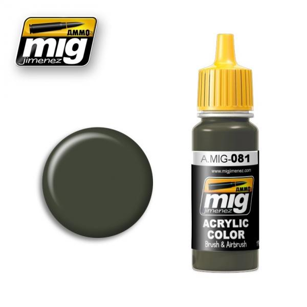 AMMO: Acrylic Paint - US Olive Drab Vietnam Era (17ml)