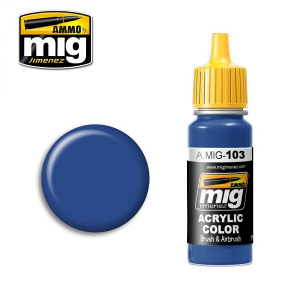 AMMO: Acrylic Paint - Medium Blue (17ml)