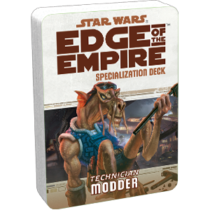 Edge of the Empire RPG: Modder Specialization Deck