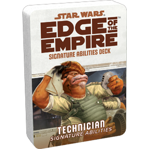 Edge of the Empire RPG: Technician Signature Abilities Specialization Deck