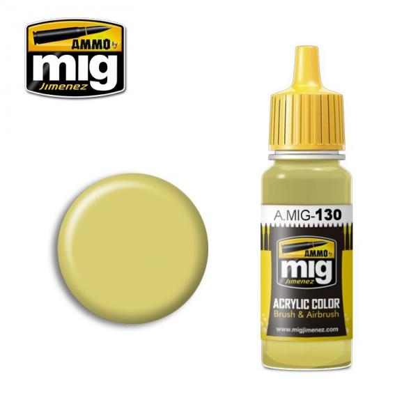 AMMO: Acrylic Paint - Faded Yellow (17ml)