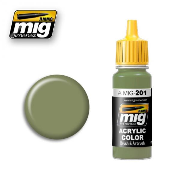 AMMO: Acrylic Paint - FS 34424 Light Grey Green (17ml)