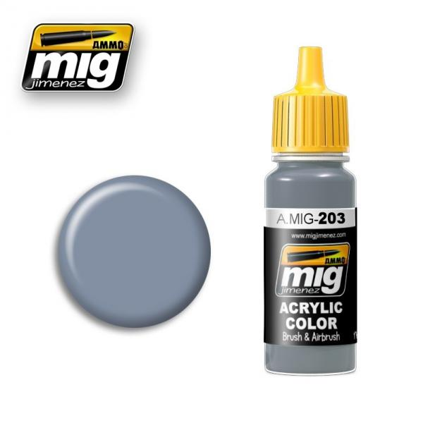 AMMO: Acrylic Paint - FS 36375 Light Compass Ghost Grey (17ml)