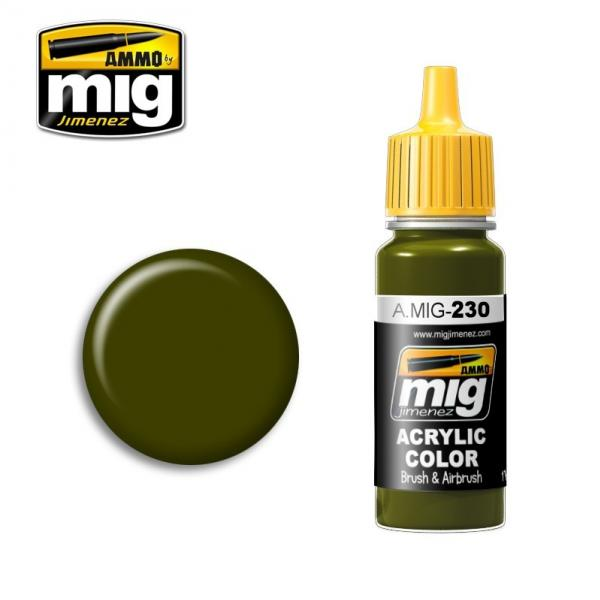 AMMO: Acrylic Paint - RLM 82 Camo Green (17ml)