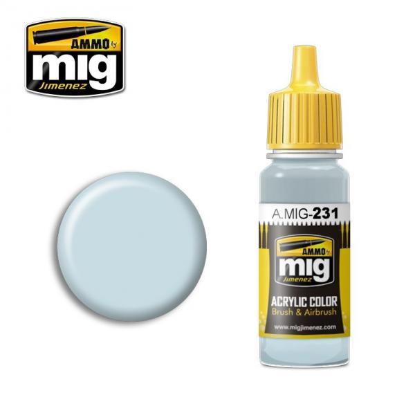 AMMO: Acrylic Paint - RLM 65 Hellblau Light Blue (17ml)