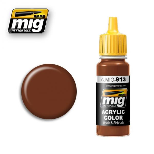 AMMO: Acrylic Paint - Red Brown Base (17ml)