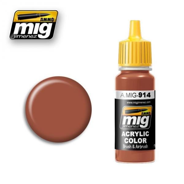 AMMO: Acrylic Paint - Red Brown Light (17ml)