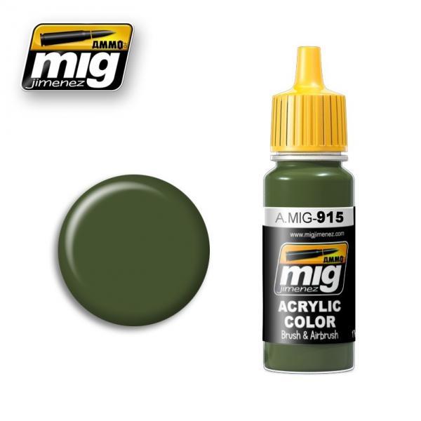 AMMO: Acrylic Paint - Dark Green (17ml)