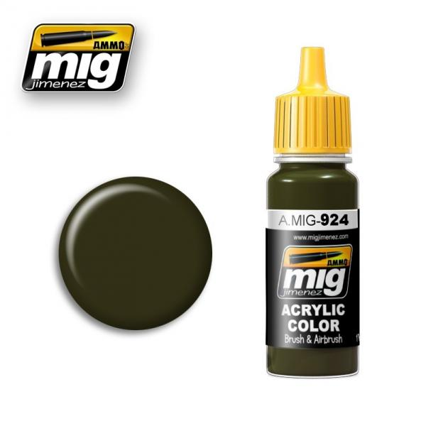 AMMO: Acrylic Paint - Olive Drab Shadow (17ml)