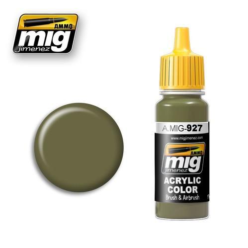 AMMO: Acrylic Paint - Olive Drab Light Base (17ml)