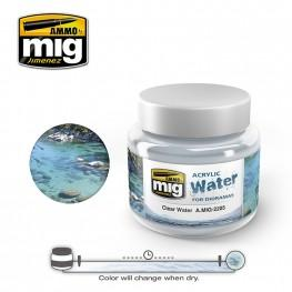 AMMO: Acrylic Water - Clear Waters (250ml)