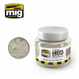 AMMO: Acrylic Mud - Arid Dry Ground (250ml)
