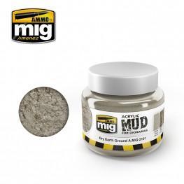 AMMO: Acrylic Mud - Dry Earth Ground (250ml)