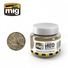 AMMO: Acrylic Mud - Light Earth Ground (250ml)