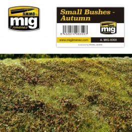 AMMO: Grass Mats - Small Bushes (Autumn)