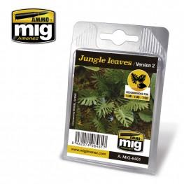 AMMO: Laser Cut Plants - Jungle Leaves (Ver2)