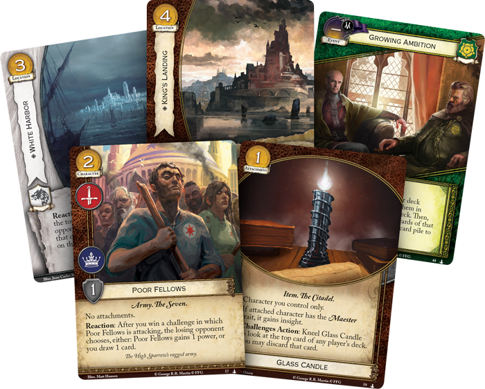 A Game of Thrones LCG: Streets of King's Landing