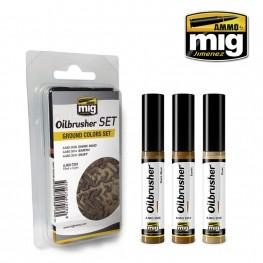 AMMO: Oilbrusher - Ground Colors Set