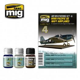 AMMO: Airplane Weathering - WWII Pacific US Navy Airplanes Set
