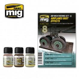 AMMO: Airplane Weathering - Airplane Dust Effects Set