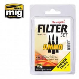 AMMO: Filters - German Tank Filter Set