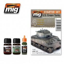 AMMO: Weathering - US Green Vehicles Set