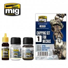 AMMO: Weathering - Chipping Set for Mechas