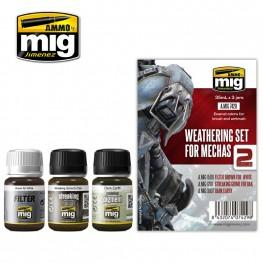 AMMO: Weathering - Weathering Set for Mechas