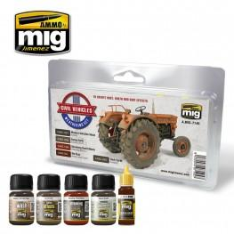 AMMO: Weathering - Civil Vehicles Weathering Set