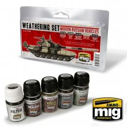 AMMO: Weathering - Modern Russian Vehicles Weathering Set