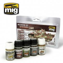 AMMO: Weathering - German Camo Set