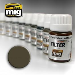 AMMO: Filters - Dark Grey for White (30ml)