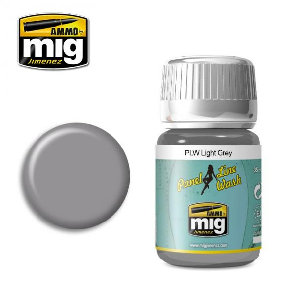 AMMO: Panel Line Wash - Light Grey (35ml)