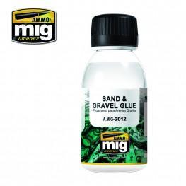 AMMO: Auxiliary - Sand & Gravel Glue (100ml)