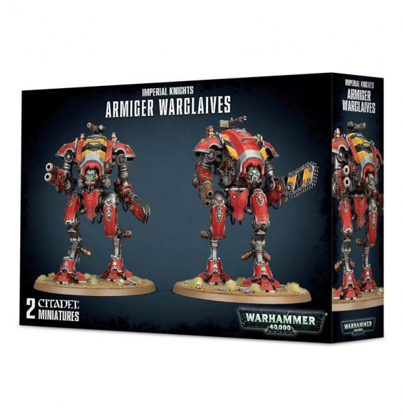 Warhammer 40K: Imperial Knights - Armiger Warglaives