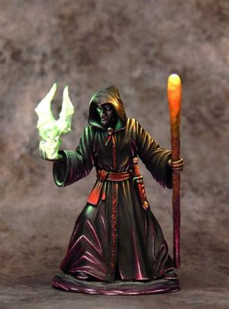 Easley Masterworks: Male Necromancer with Staff